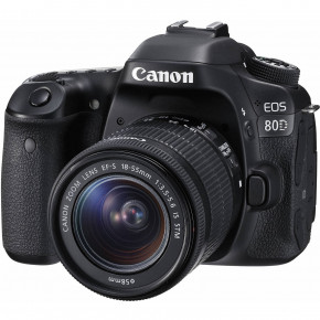EOS 80D with EF-S 18-55mm IS STM Lens