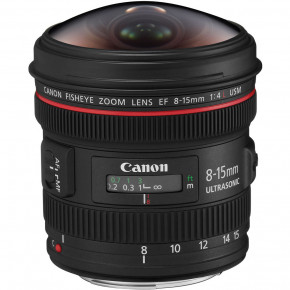 [OPEN BOX] EF 8-15mm f/4L Fisheye USM