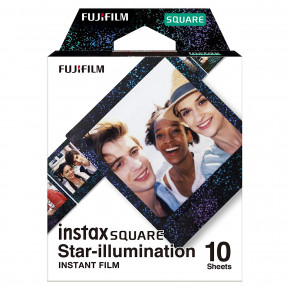 Instax Square Star-illumination Instant Film (10 Sheets)
