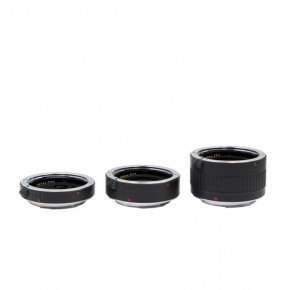 Macro extension tube set for Canon EF/EF-S