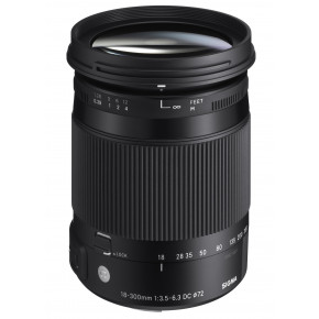 18-300mm f/3.5-6.3 DC MACRO HSM Contemporary for Pentax K