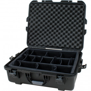 945 Professional protective case with dividers (Black)