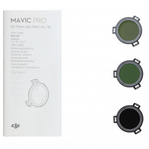 Mavic - ND Filters Set ND4 - ND8 and ND16