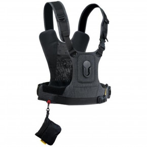 CCS G3 Camera Harness System for one Camera - Charcoal Grey