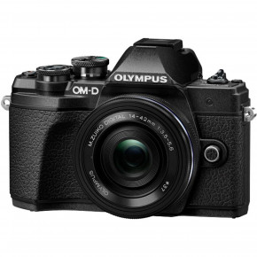 OM-D E-M10 Mark III (Black) with 14-42mm EZ Lens