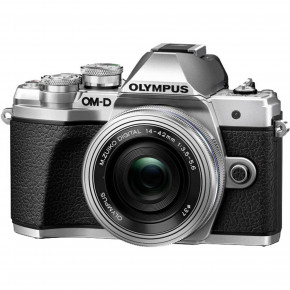 OM-D E-M10 Mark III (Silver) with 14-42mm EZ Lens