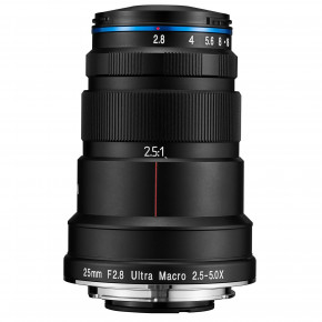 25mm f/2.8 2.5 - 5X Ultra-Macro for Nikon Z