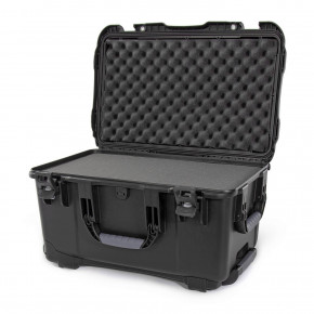 938 Wheeled Case with foam (Black)