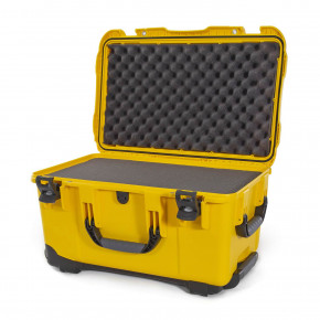938 Wheeled Case with foam (Yellow)
