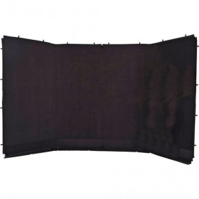 Panoramic Background Cover 400cm x 230cm (Black)