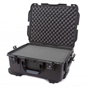 955 Wheeled Case with foam (Black)