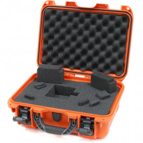915 Professional protective case with foam (Orange)