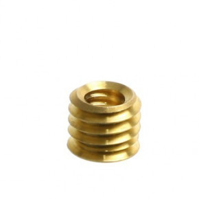 "Brass Reducer Bushing 3/8"" to 1/4"""