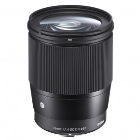 16mm f/1.4 DC DN Contemporary Lens for Canon EF-M