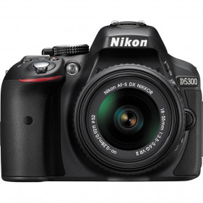 D5300 (Black) with AF-S 18-55mm VR Lens