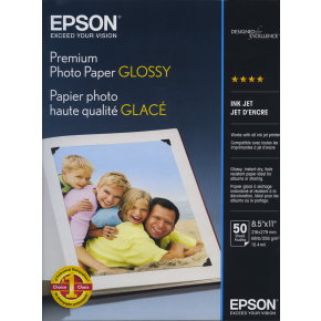Epson Ultra Premium Photo Paper Glossy 25 Sheets 8.5'' x 11''