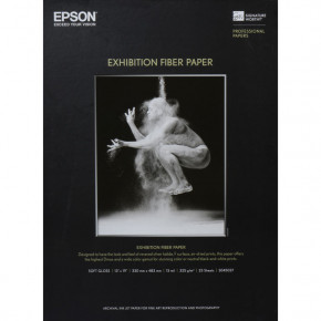 Epson Exhibition Photo Paper 25 Sheets 13'' x 19''