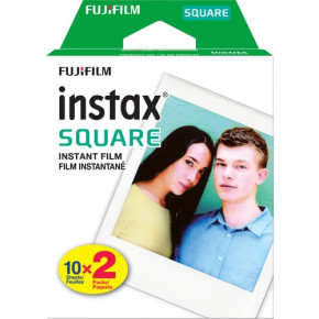 Instax Square Instant Film (2 packs of 10 Sheets)