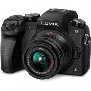 LUMIX DMC-G7 (Black) with 14-42mm II ASPH Lens