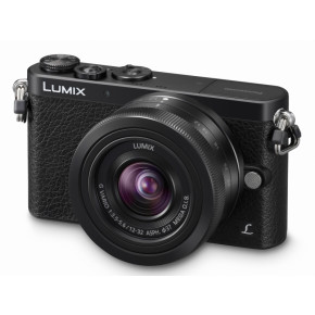 Lumix DMC-GM1 (Black) with Lumix G Vario 12-32mm Lens