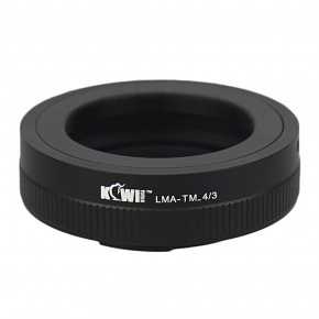 Kiwi Mount Adapter from T-Mount to 4/3