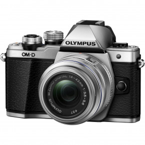 OM-D E-M10 Mark II (Silver) with 14-42mm II R Lens