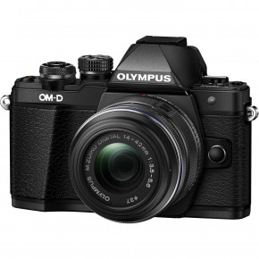 OM-D E-M10 Mark II (Black) with 14-42mm II R Lens