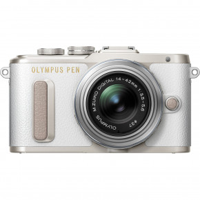 PEN E-PL8 Interchangeable Lens Digital Camera with 14-42 mm Lens