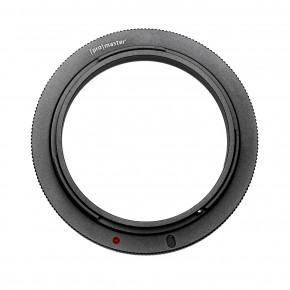 52mm Lens Reverse Ring for Canon EOS Mount