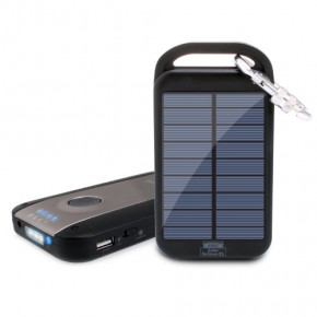 Solar Powered Battery Charger 4000 mAh