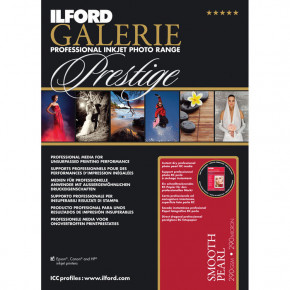 Ilford Galerie Smooth Pearl Paper 25 Sheets 8.5x11''