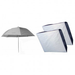 "Studio Soft Box Starter Kit - 36"" Umbrella and 24 x 36"" Softbox (2)"